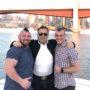 Arnold Schwarzenegger Celebrates Marriage of Gay Strongman Rob Kearney in Australia
