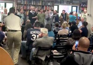 white supremacists dc bookstore
