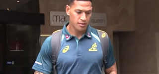 French Rugby Team Awards New Contract to Israel Folau, Who Said 'Hell Awaits All Homosexuals'