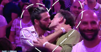 gay kiss eurovision