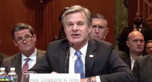Christopher Wray spying