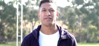 Disgraced Rugby Star Israel Folau Blames Deadly Australian Bushfires on Gay Marriage: WATCH