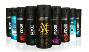 axe body spray pride