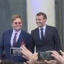 Elton John Receives France's Highest Civilian Honor: WATCH
