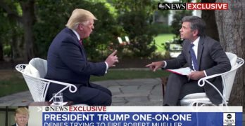 George Stephanopoulos Donald Trump