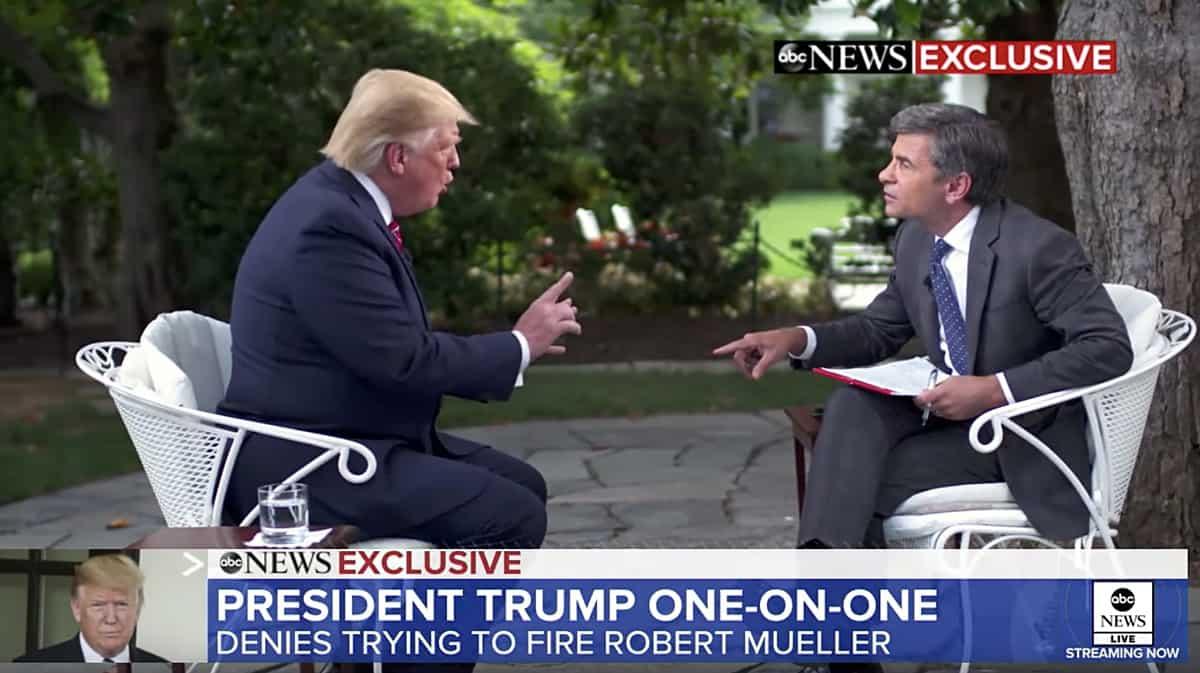 George Stephanopoulos Donald Trump