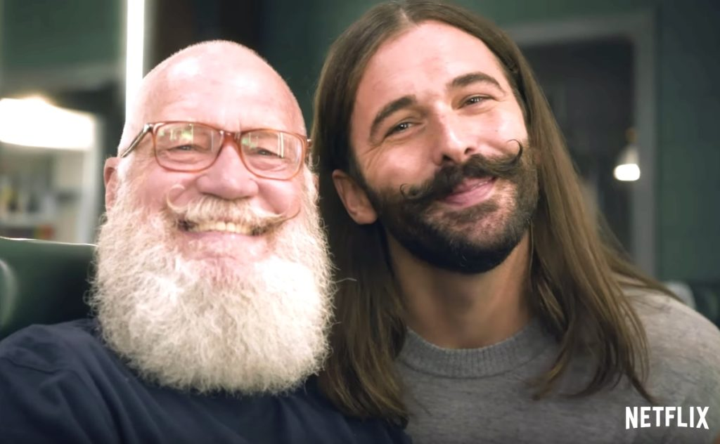 David Letterman Jonathan Van Ness