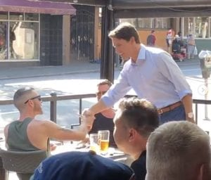 Justin Trudeau gay bar