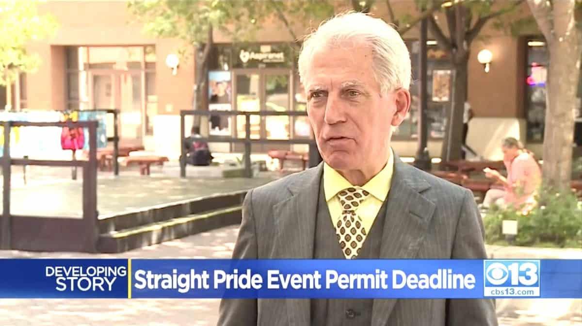 Don Grundmann straight pride
