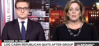 Chris Hayes Speaks with 'Log Cabin Republicans' Official Who Resigned Over Group's Trump Endorsement: WATCH