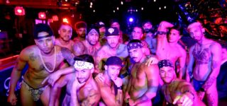 Cazwell Gets into a Gay Bar Grind on 'Duo Lingo' — WATCH