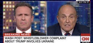Giuliani Whistleblower Meltdown: Rudy Denies Asking Ukraine to Investigate Joe Biden, Then Admits It: WATCH