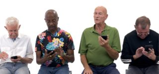 Older Gay Men Try Grindr, and One Has Never Used a Cell Phone: WATCH