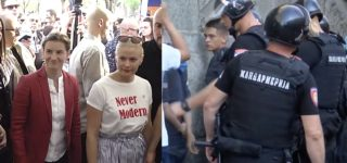 Far-Right Extremists Fail to Crash LGBTQ Pride Parade in Serbia Attended by Gay PM Ana Brnabic: WATCH