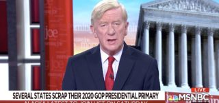 Bill Weld Says Trump Committed 'Treasonous' Acts 'and the Penalty for Treason is Death' — WATCH