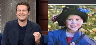 Jonathan Groff Dressed as Mary Poppins When He Was 4: WATCH