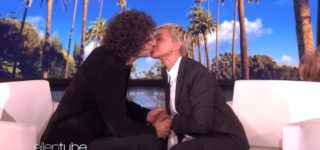 Ellen Kissed Howard Stern to Try and Make Everyone Forget About the George W. Bush Photos