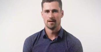 hockey butt Dylan Larkin