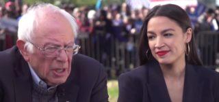 AOC Endorses Bernie Sanders in New York City: WATCH