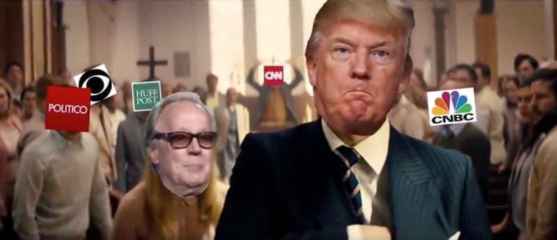 sickening trump video