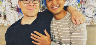'Star Trek' Actor Anthony Rapp Announces Engagement to Boyfriend Ken Ithiphol: 'I am So Very Happy'