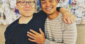 Anthony Rapp engagement twitter