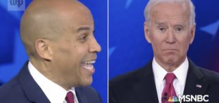 Cory Booker Calls Out Joe Biden's Remarks on Marijuana: 'I Thought You Might Have Been High When You Said It' — WATCH