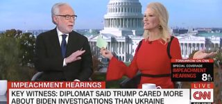 Kellyanne Conway Melts Down Over Trump-Hating Husband in Train Wreck Interview with Wolf Blitzer: WATCH