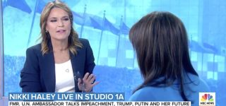 Savannah Guthrie Calls Out Nikki Haley for Defending Trump's Attempt to Use U.S. Aid to Extort a Biden Investigation: 'With All Due Respect…' — WATCH