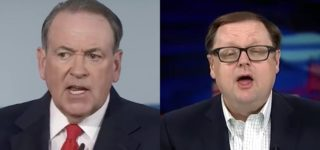 Mike Huckabee and Todd Starnes Flip Out Over Chick-fil-A's Vow to Stop Anti-LGBTQ Giving: 'It Won't Be Long Before You See a Cow in Drag!'