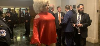 Apparently There is a Drag Queen at the Impeachment Hearings