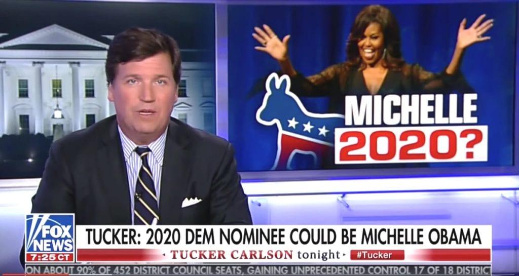 tucker carlson michelle obama