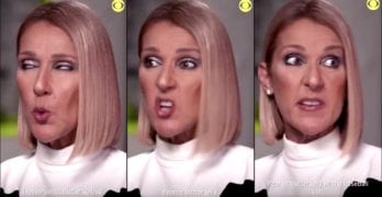 Celine Dion peanut butter