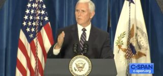 Mike Pence Tells Cheering Crowd He 'Couldn't Be More Proud' of New Rule Allowing Adoption Agencies to Reject Gay Couples: WATCH