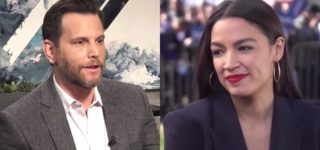 AOC Claps Back at Homocon Commentator Dave Rubin: 'Apologies, Someone Must Have Mistaken You for a Journalist'