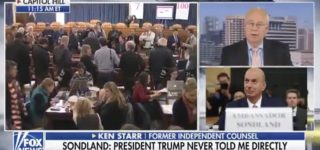 Kenneth Starr Wonders on FOX News if Senators Will 'Make Trip to White House' and Call on Trump to Resign 'in Light of What We've Heard Today' — WATCH