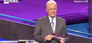Alex Trebek Gets Choked Up After Contestant's Answer Offers Support for His Cancer Battle: WATCH