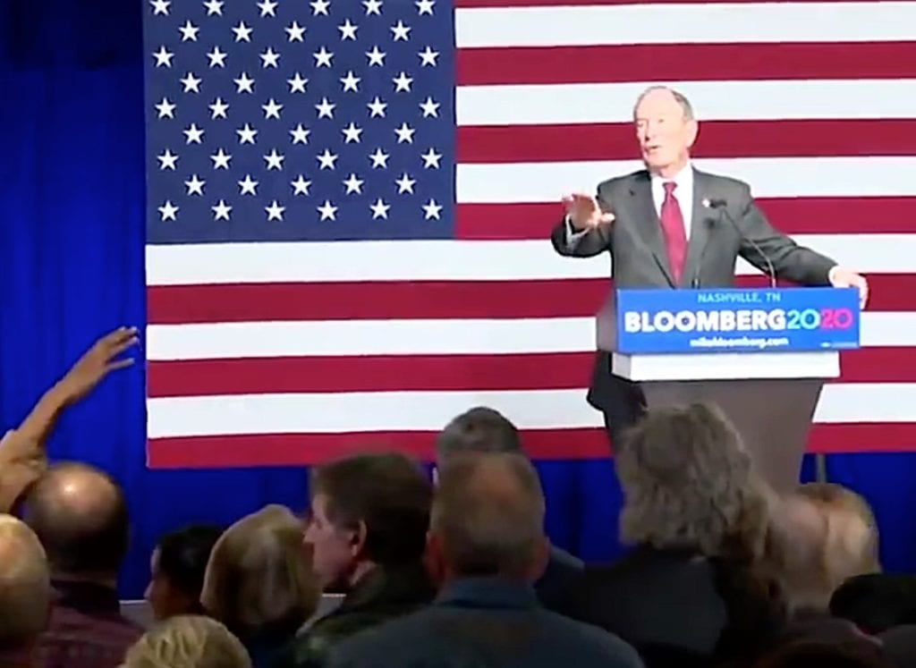 Michael Bloomberg climate