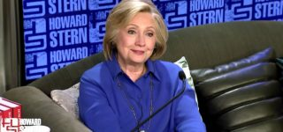 Hillary Clinton Tells Howard Stern She's Not a Lesbian: 'Contrary to What You Might Hear, I Actually Like Men'