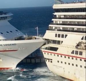 cruise ship collision