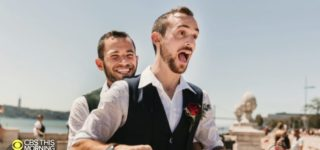 Because Same-Sex Marriage is Illegal in Israel, This Gay Couple Tied the Knot in Portugal: WATCH