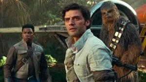 Star Wars Rise of Skywalker kiss