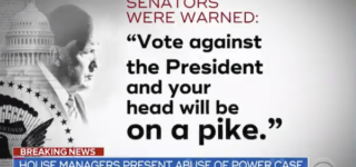 White House Warns GOP Senators, 'Vote Against the President, and Your Head Will Be on a Pike': REPORT