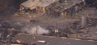 Massive Explosion at Houston Manufacturing Plant Kills 2, Damages 200 Homes: VIDEO