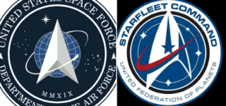 'We're in the F***ing Mirror Universe': Twitter Reacts to Trump's Space Force Logo Ripoff