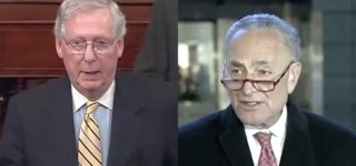 Schumer Objects as McConnell Lays Out Groundwork for Speedy, Sham Impeachment Trial: 'It's a Cover Up' — WATCH