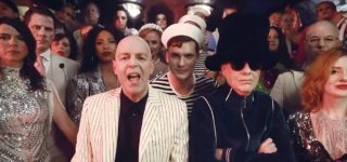 'Pet Shop Boys' Hit the Nightclub for 'Monkey Business' in Disco Finery — WATCH