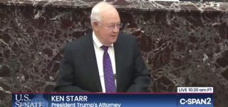 Ken Starr's Unironic Lamentation About the 'Age of Impeachment' is Much Better with a Laugh Track: WATCH