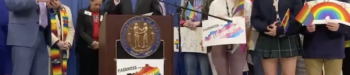 Kentucky Gov. Andy Beshear Makes History by Attending LGBT Rally at Capitol: WATCH
