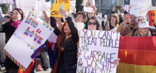 Students Stage Massive Protest at Catholic School That Forced Out Gay Teachers: WATCH